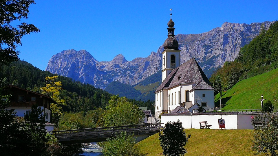 Ramsau, Berchtesgadener Land, Church