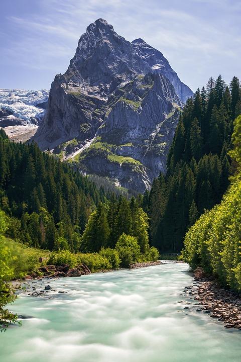 Swiss, Berg, Mountains, Landscape, Nature, Travel, Ice