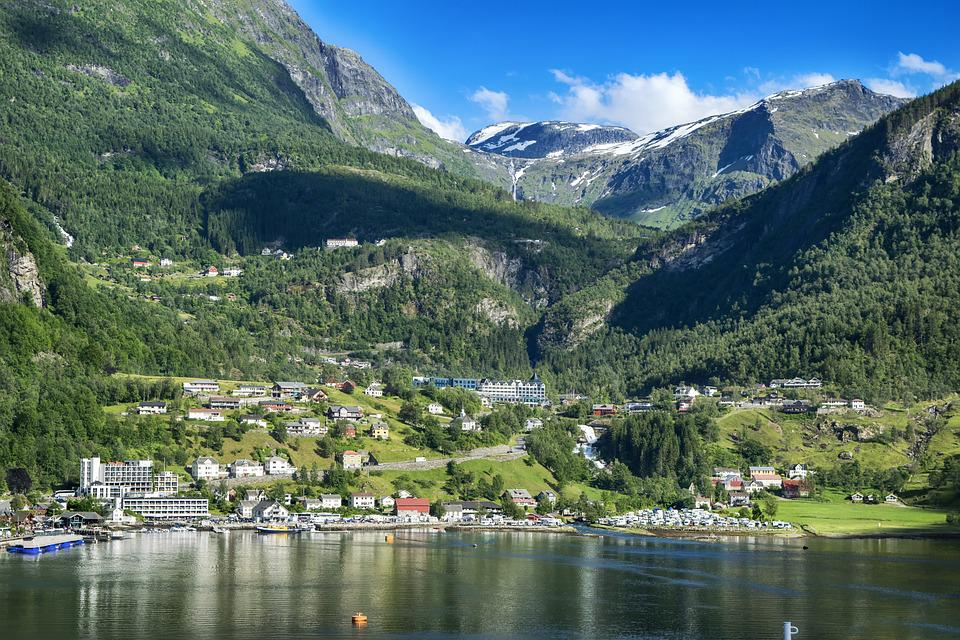 Landscape, Bergen, Norway