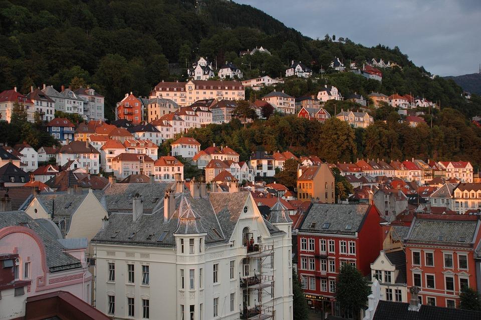 Norway, Bergen, Wing
