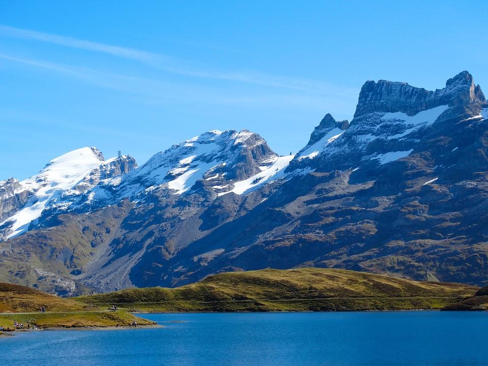 Mountains, Mountain Summit, Bergsee, Alpine