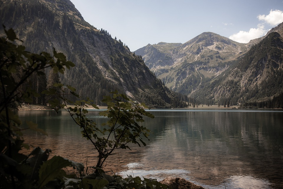 Bergsee, Vilsalpsee, Mountains, Tyrol, Nature, Lake