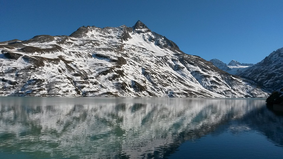 Mountains, Alpine, Bergsee, Snow, High Mountains, Lake