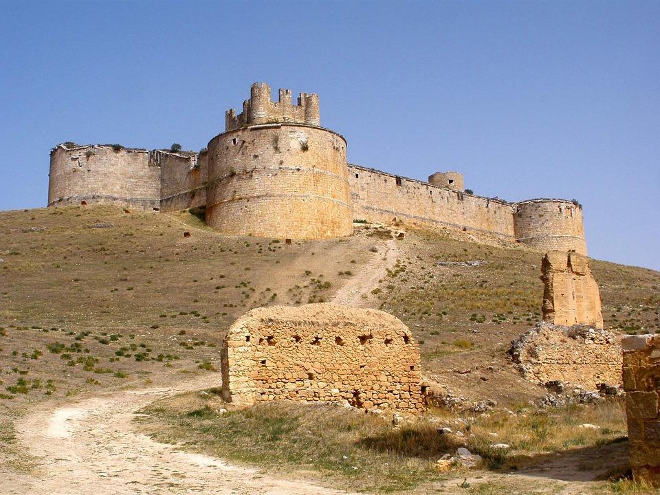 Berlanga De Duero, Village, Soria, Castile, Leon, Spain