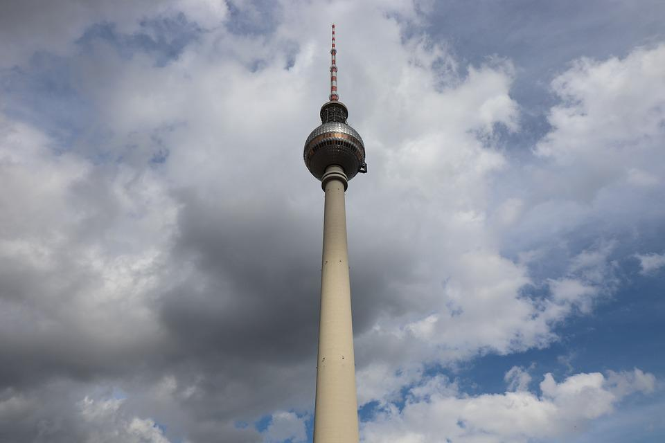 Berlin, Tv Tower, Alexanderplatz, Places Of Interest