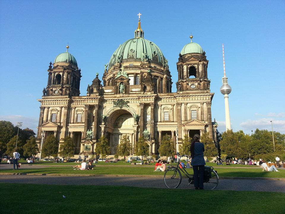 Berlin, Cathedral, Church, Tourism, Architecture