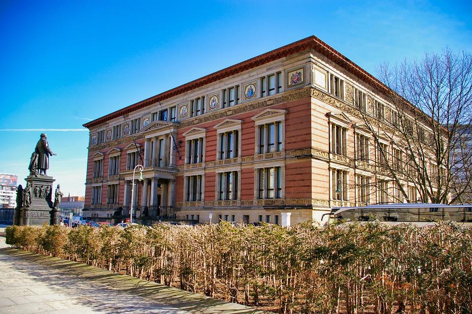 Berlin, Kreuzberg, Gropius-bau, Architecture