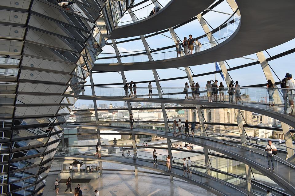 Berlin, Architecture, Modern, Reichstag, Germany