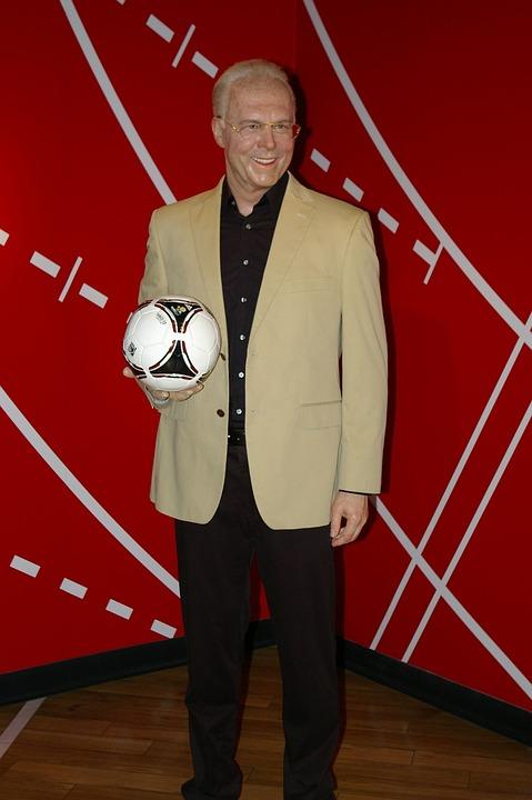 Madame Tussauds, Berlin, Beckenbauer, Football