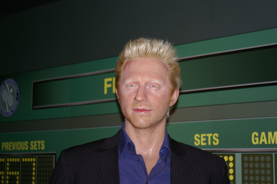 Boris Becker, Tennis Player, Wax Figure, Berlin
