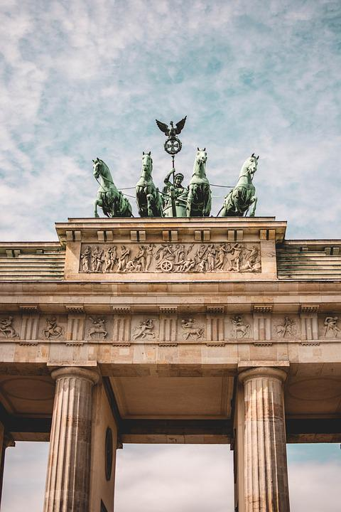 Brandenburg Gate, Berlin, Goal, Landmark, Building