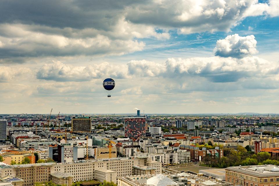 Berlin, Panorama, Potsdam Place, Capital, Skyscraper