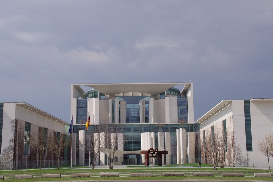 Architecture, Building, Chancellery, Berlin, City
