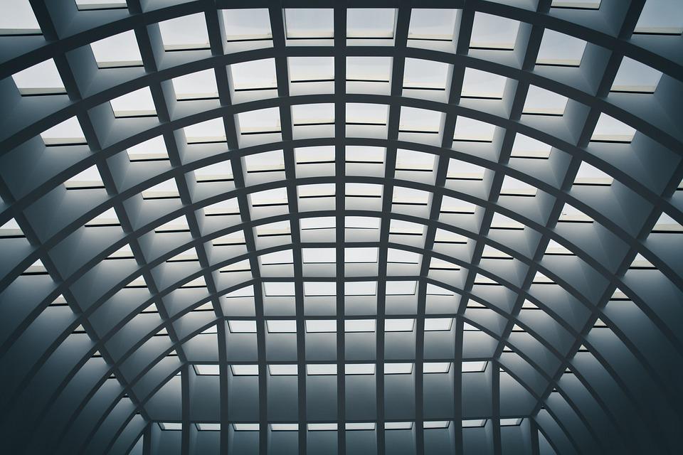 Dome, Construction, Berlin, Background, Geometric