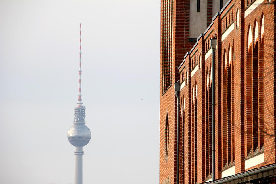 Berlin, Tv Tower, Germany, Places Of Interest, Capital
