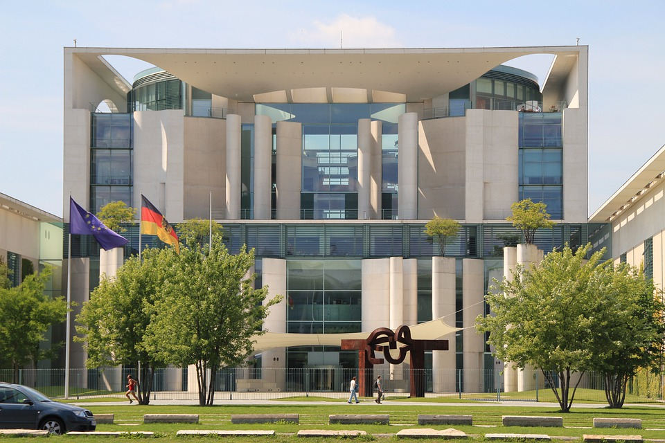 Chancellery, Berlin, Government District