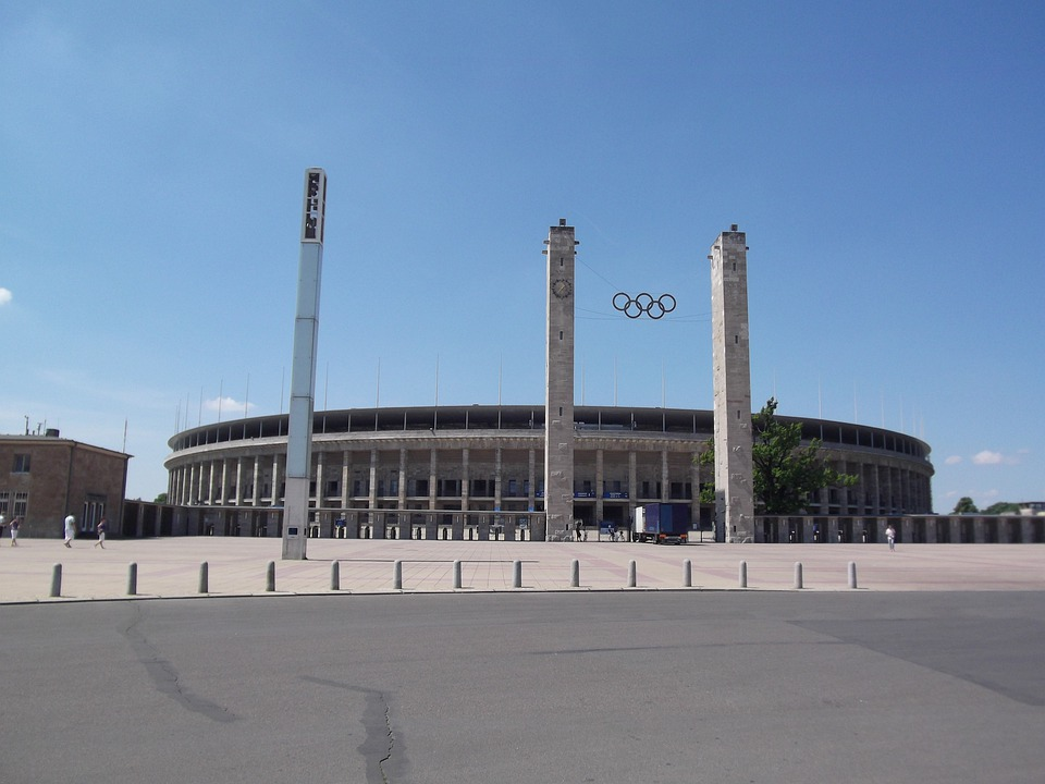 Olympic Stadium, Olympiad, Berlin, Sport, Sports