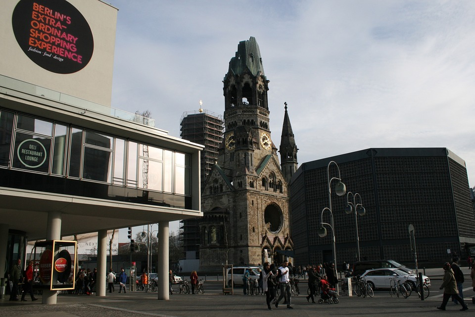 Berlin, Bikini, Gedächtniskirche, Places Of Interest