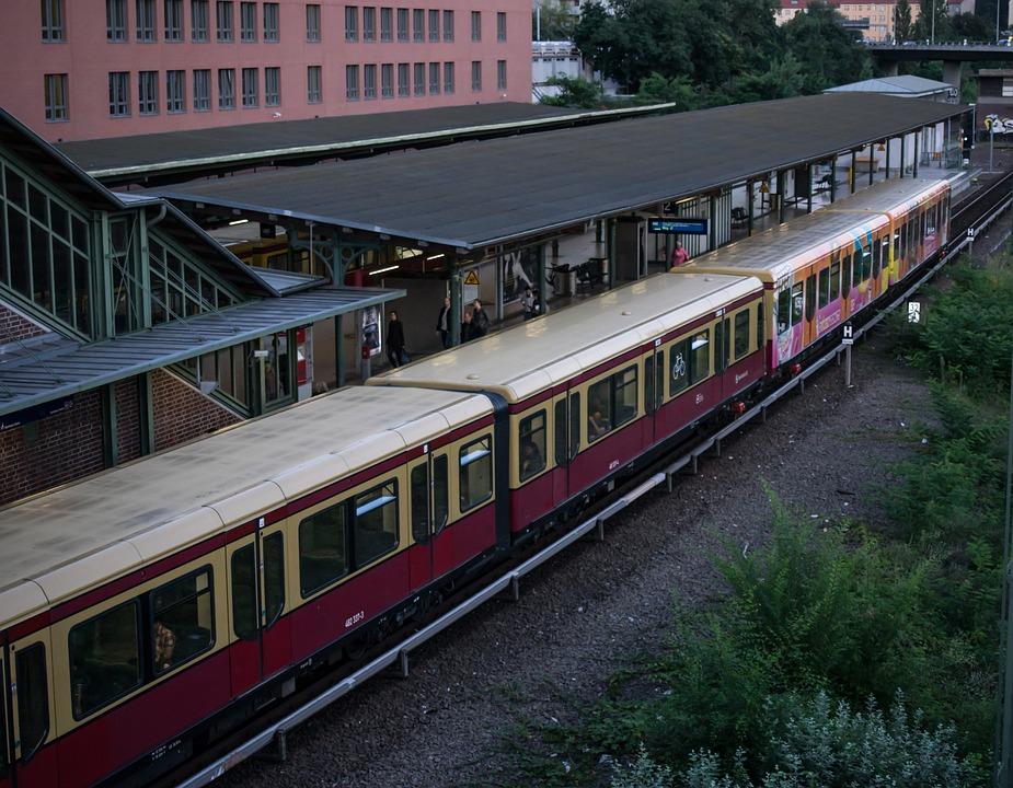S, Train, Berlin, Railway Station, Architecture