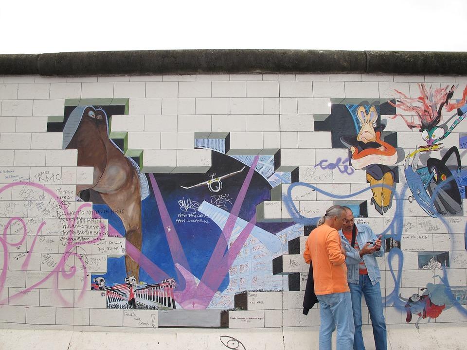East, Gallery, Berlin, East Side Gallery, Structures