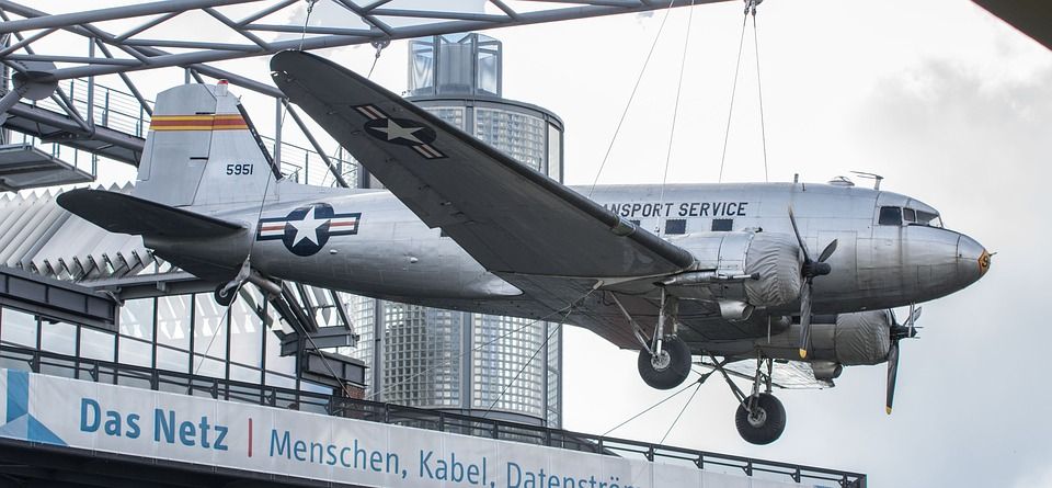 Aircraft, Candy Bomber, Berlin, Museum, Tourists