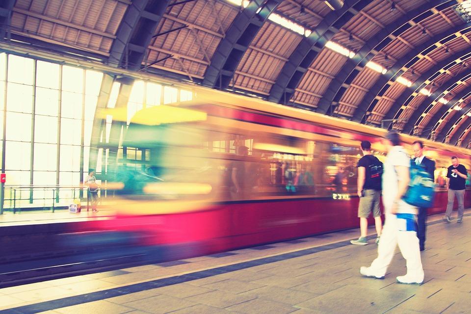 Berlin, Spandau, Capital, Metro, Train, Travel, Commute