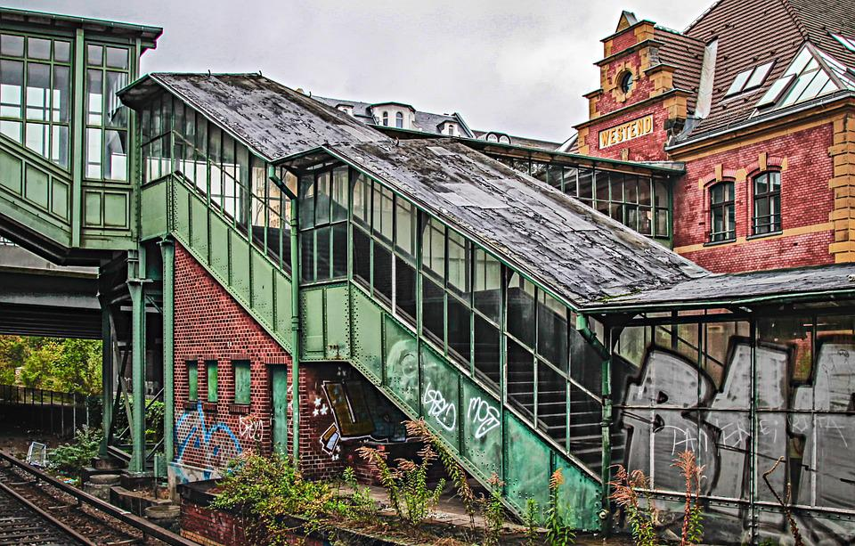 Architecture, Westend, Berlin, Abandoned Places