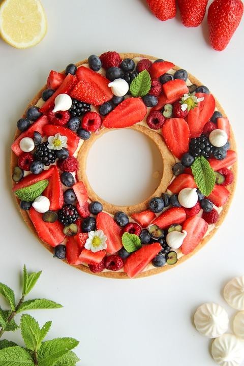 Pie, Red, Berries, Strawberry, Raspberry, Blueberry