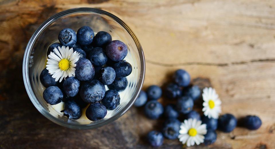 Blueberries, Dessert, Fruit, Fruits, Blue, Berries