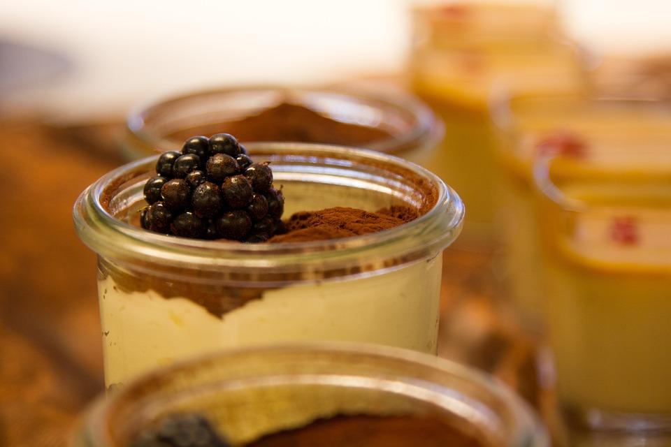 Dessert, Blackberry, Sweet, Eat, Berries, Tiramisu