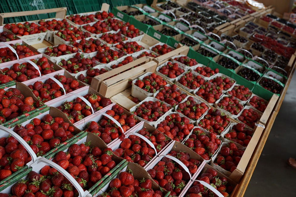 Gooseberries, Strawberries, Eat, Berries, Vitamins