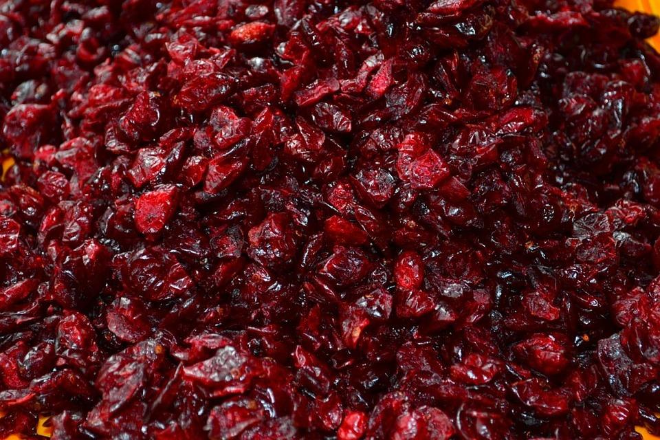 Cranberries, Dried, Fruit, Berries, Fruits, Sweet, Food