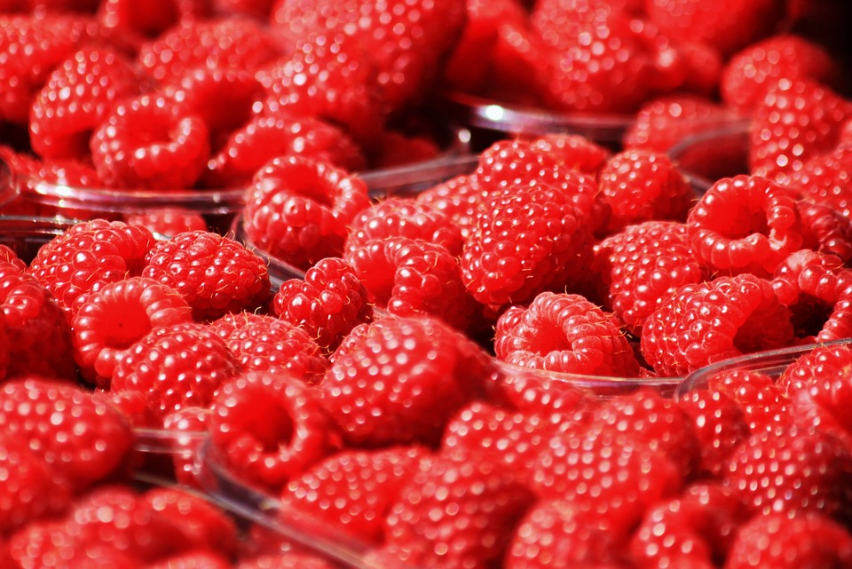 Raspberries, Berries, Fruits, Fruit, Red, Sweet