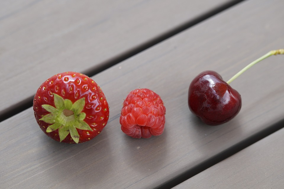 Fruits, Summer, Berries, Fruit, Cherry, Red, Berry Red