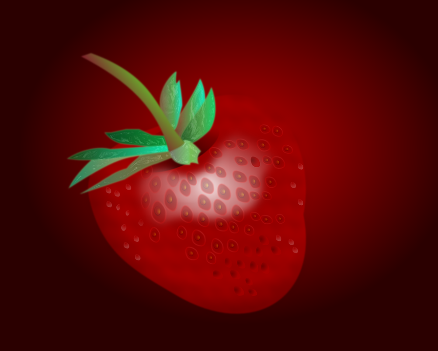 Strawberry, Berry, Fruit, Red