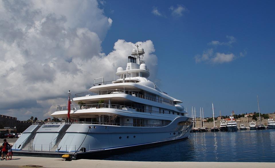Ship, Yacht, Sea, Port, Berthed, Rodos