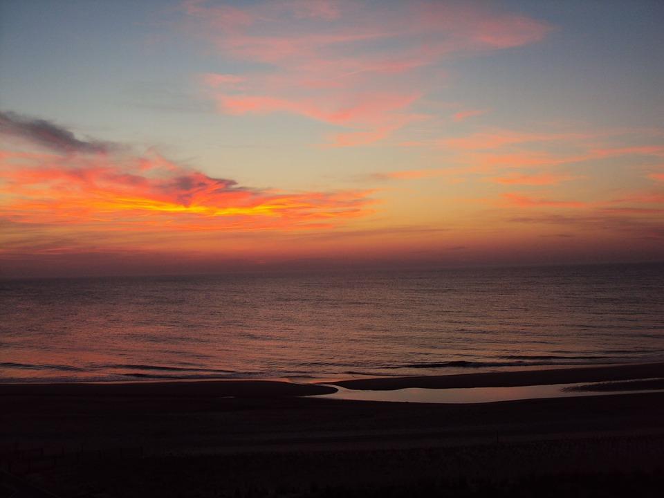 Bethany Beach, Delaware, Beach, Bethany, Ocean, Sunrise