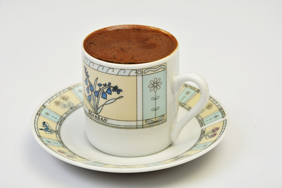 Turkish Coffee, Cup, Beverage