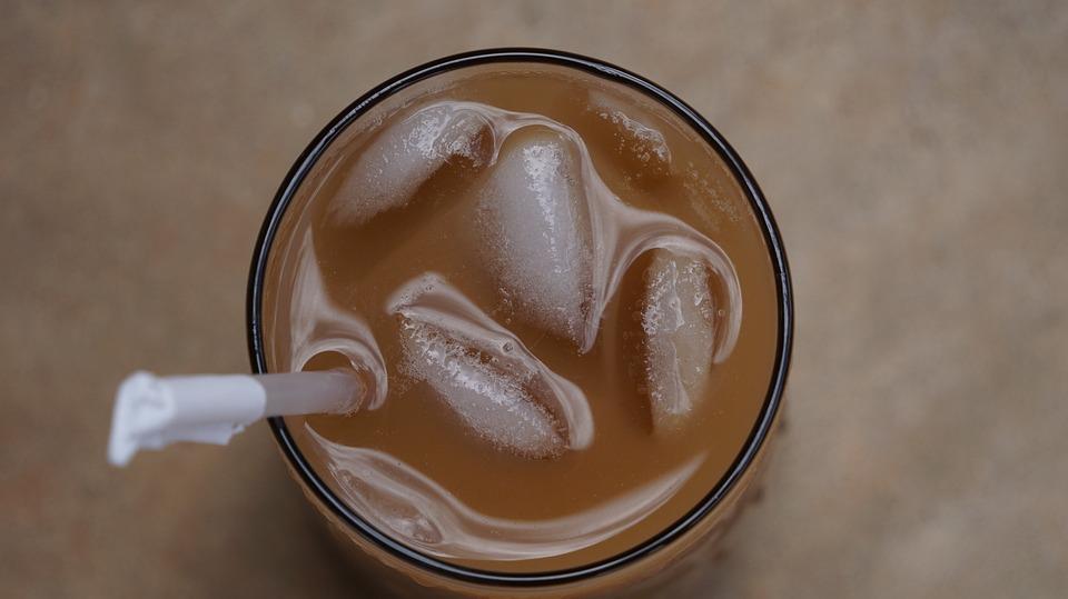 Coffee, Ice Coffee, Beverage, Glass, Drink, Caffeine