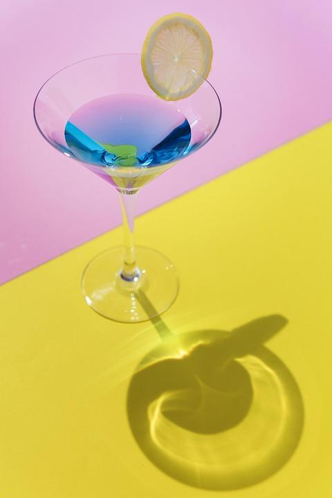 Alcohol, Beverage, Cocktail, Drink, Glass, Lemon