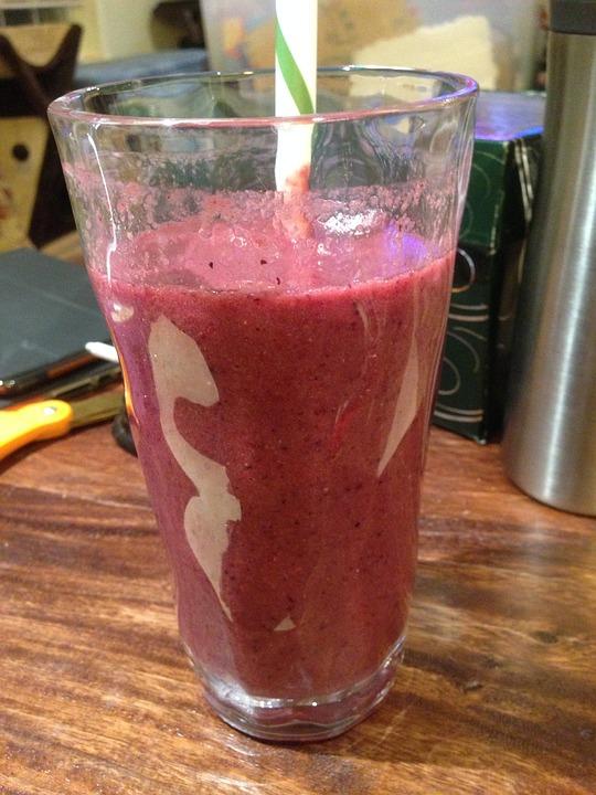 Smoothie, Berries, Food, Beverage, Breakfast, Yogurt