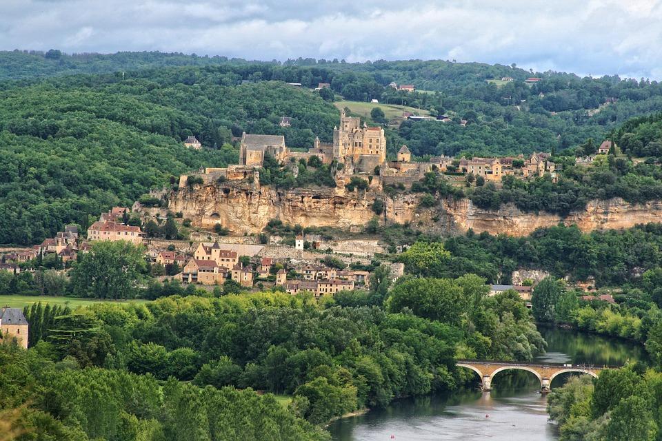 France, Périgord, Dordogne, Beynac Castle