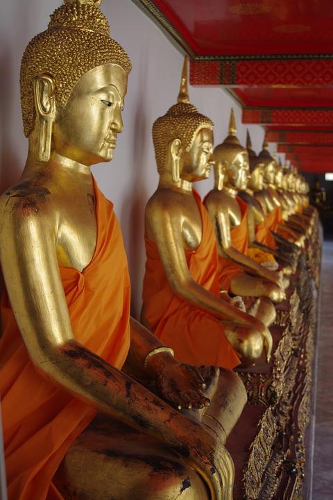 Bhuddist Temple, Temple, Bangkok, Thailand