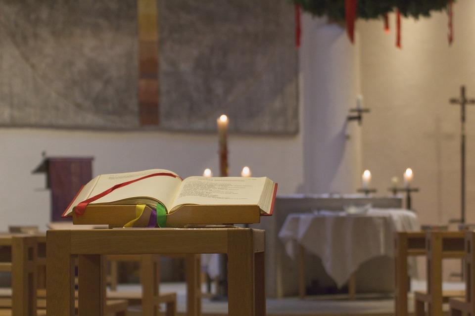 Book, Bible, Church, Religion, Faith, Blessing