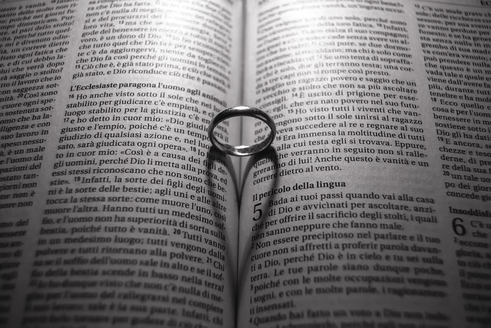 Bible, Religion, Love, Faith, Couple, In Love, Marriage