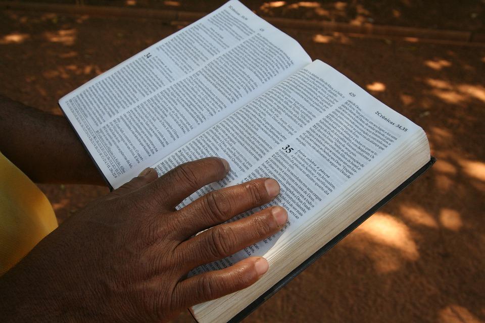 Hand, Bible, Religion