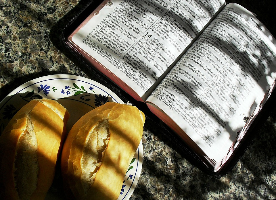 Bible, Food, Salvation, Evangelization, Devotional