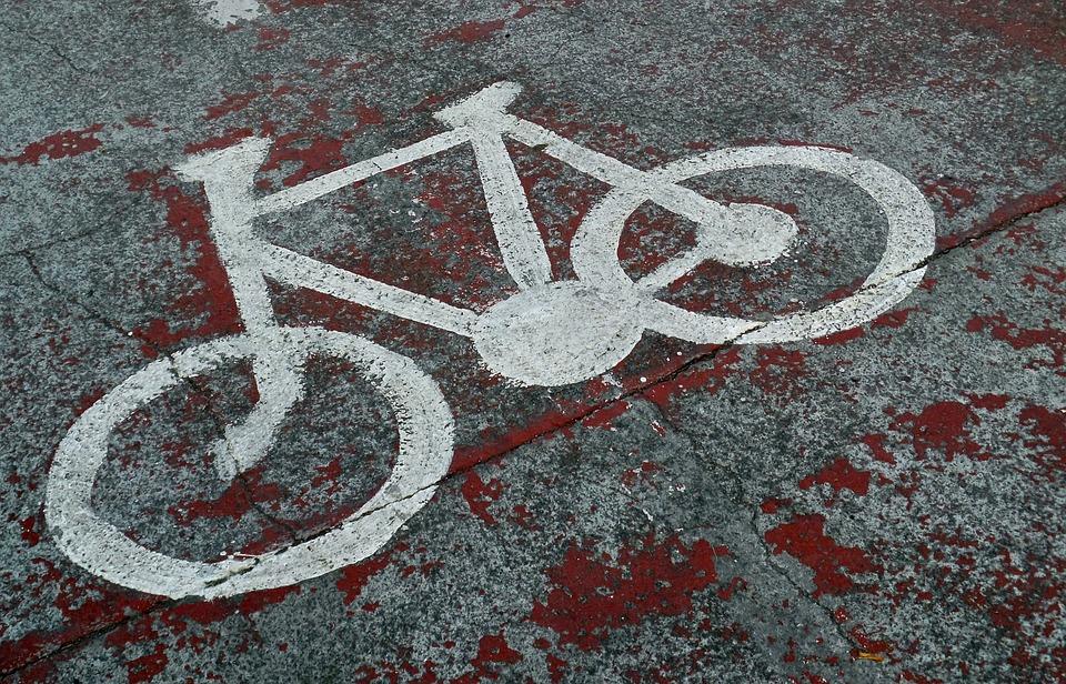 Road Sign, Bicycle, Bicycle Sign, Asphalt, Symbol