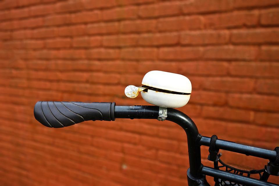 Bell, Bicycle, Bicycle Bell, Ding Dong, Handlebar