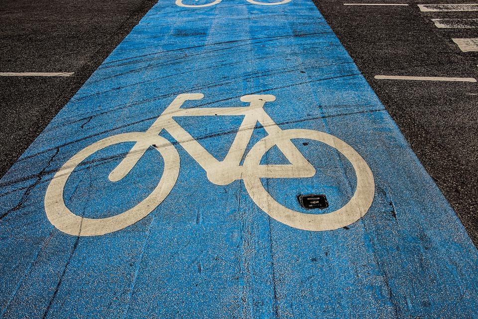 Cycle Path, Cycling, Bike, Bicycle Path, Road